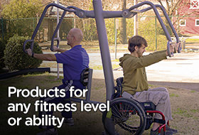 Check out our outdoor exercise equipment advanced series.