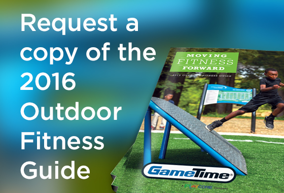 Request our outdoor fitness equipment catalog.