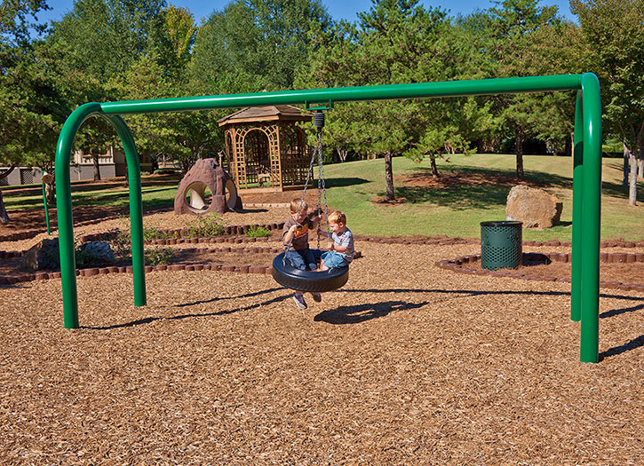 10777 tire swing playground swing playground for Tire play structure