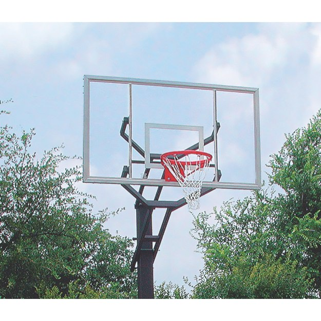 Grizzly Adjustable Basketball System with Breakaway Goal