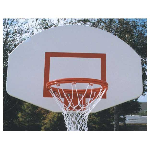 Official Aluminum Backboard with Goal and Net
