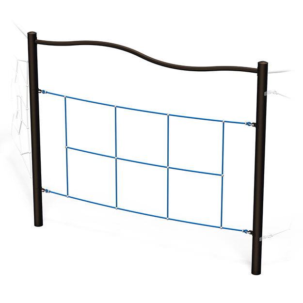KidNetix Horizontal Net Ladder